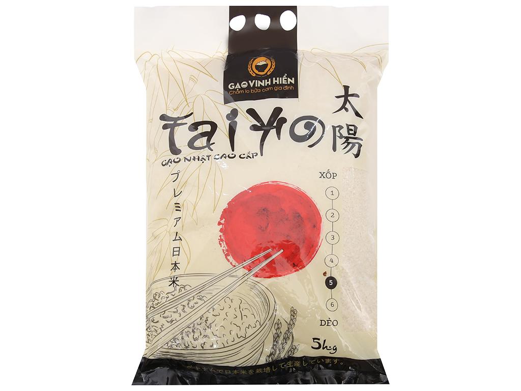 Gạo giống Nhật Bản Vinh Hiển Taiyo túi 5kg 1