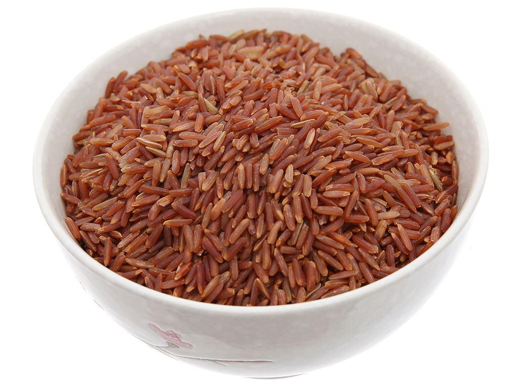 Gạo lứt đỏ Cỏ May hút chân không túi 2,5 kg 3