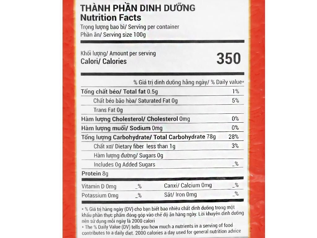 Gạo Cỏ May Long Châu 66 hút chân không túi 5kg 8
