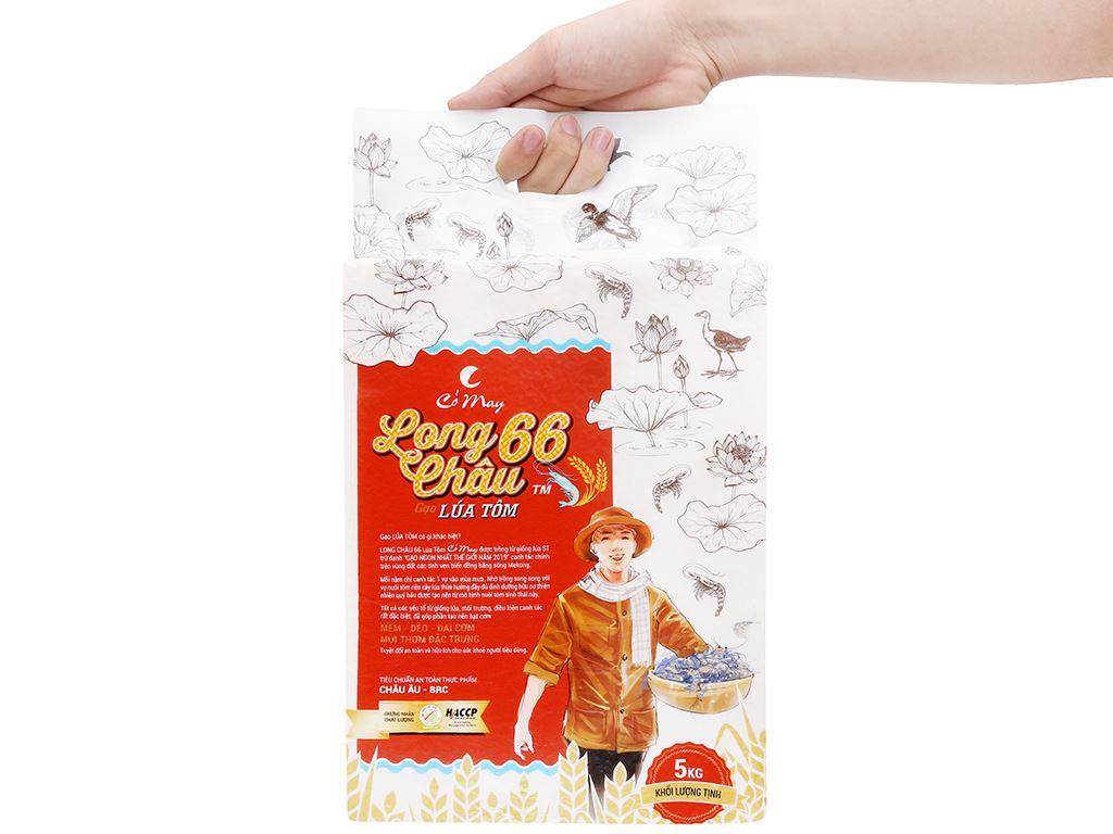 Gạo Cỏ May Long Châu 66 hút chân không túi 5kg 10