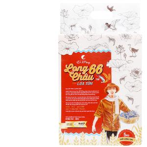 Gạo Cỏ May Long Châu 66 hút chân không túi 5kg