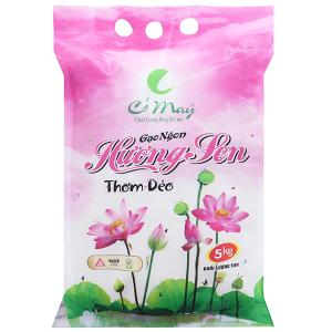 Gạo Cỏ May Hương Sen túi 5kg