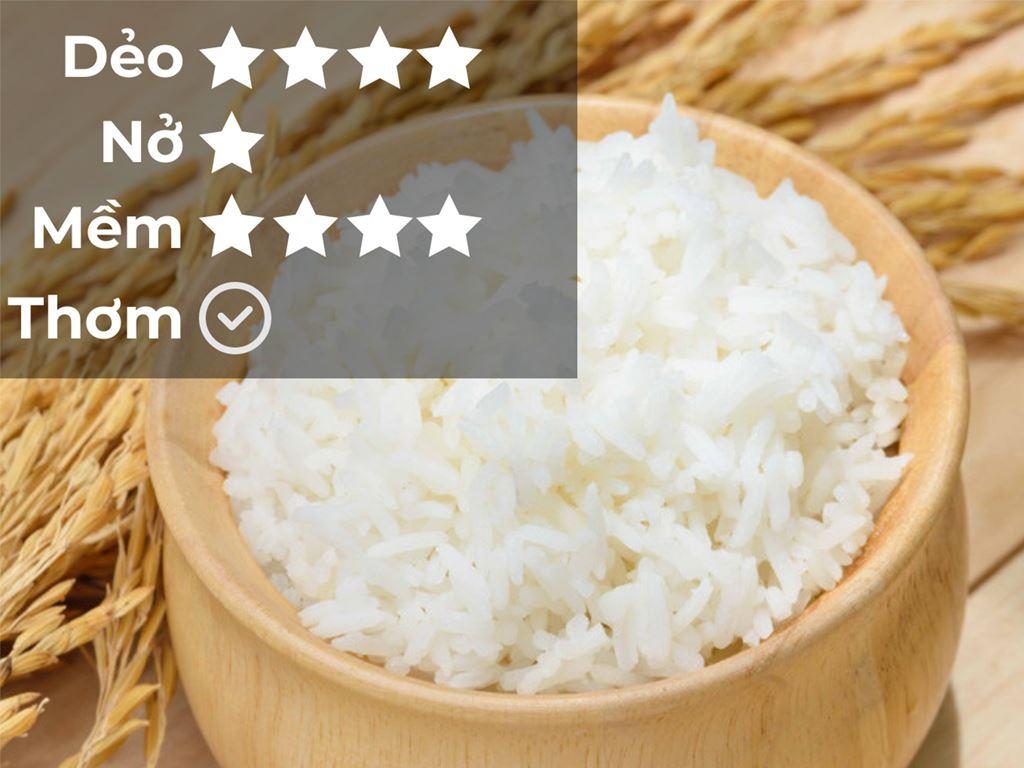 Gạo Cỏ May Hương Sen túi 5kg 5