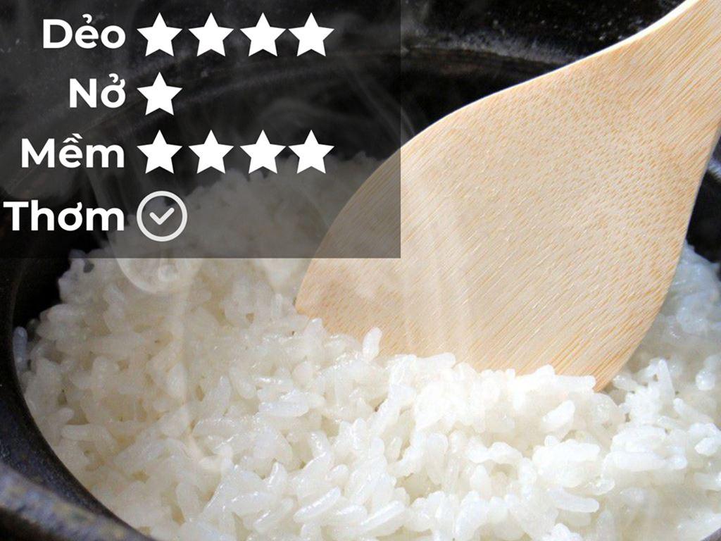 Gạo Cỏ May Hiểu về trái tim hút chân không túi 5kg 5