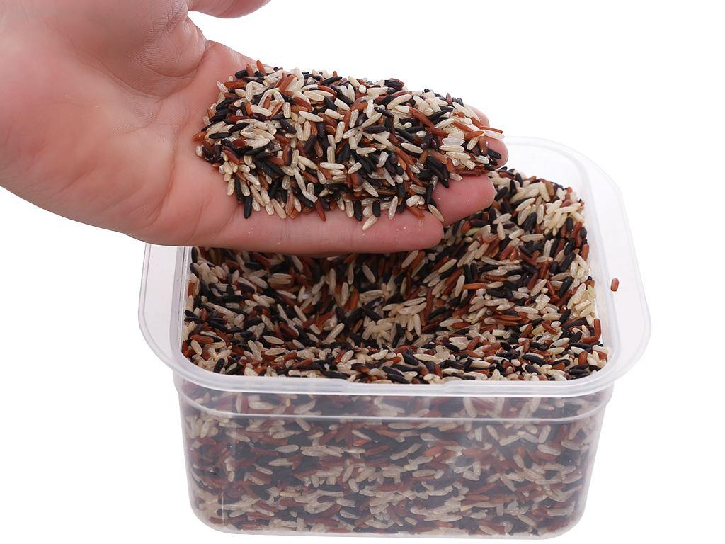 Gạo hỗn hợp Tấm Cám Lotus Rice NutriChoice hộp 0,5kg 5