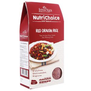 Gạo huyết rồng Lotus Rice NutriChoice hộp 0,5kg