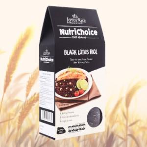 Gạo tím than Lotus Rice NutriChoice hộp 0,5kg