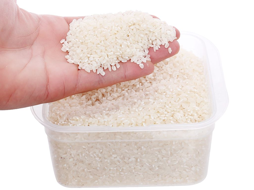 Gạo Nhật hữu cơ Ecoba Anh Đào hộp 1kg 5