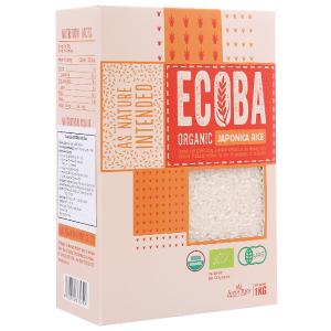 Gạo Nhật hữu cơ Ecoba Anh Đào hộp 1kg