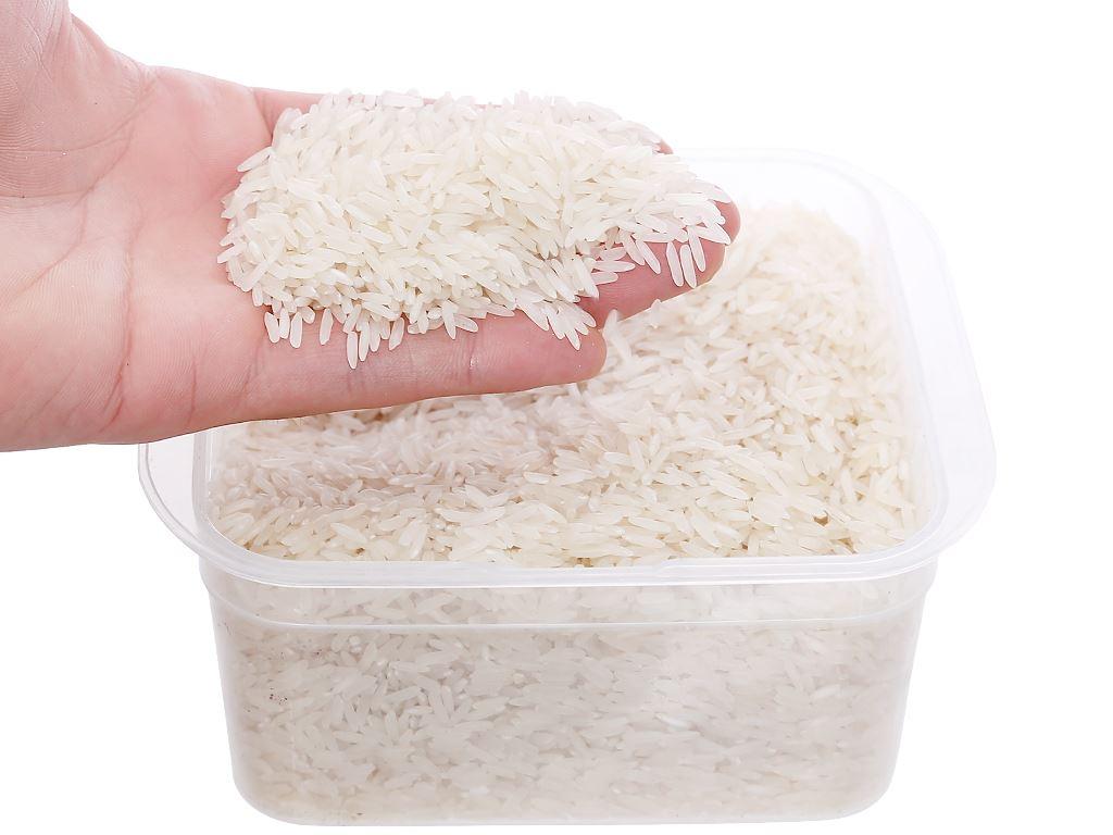 Gạo trắng hương lài hữu cơ Ecoba Ngọc Mễ hộp 1kg 5