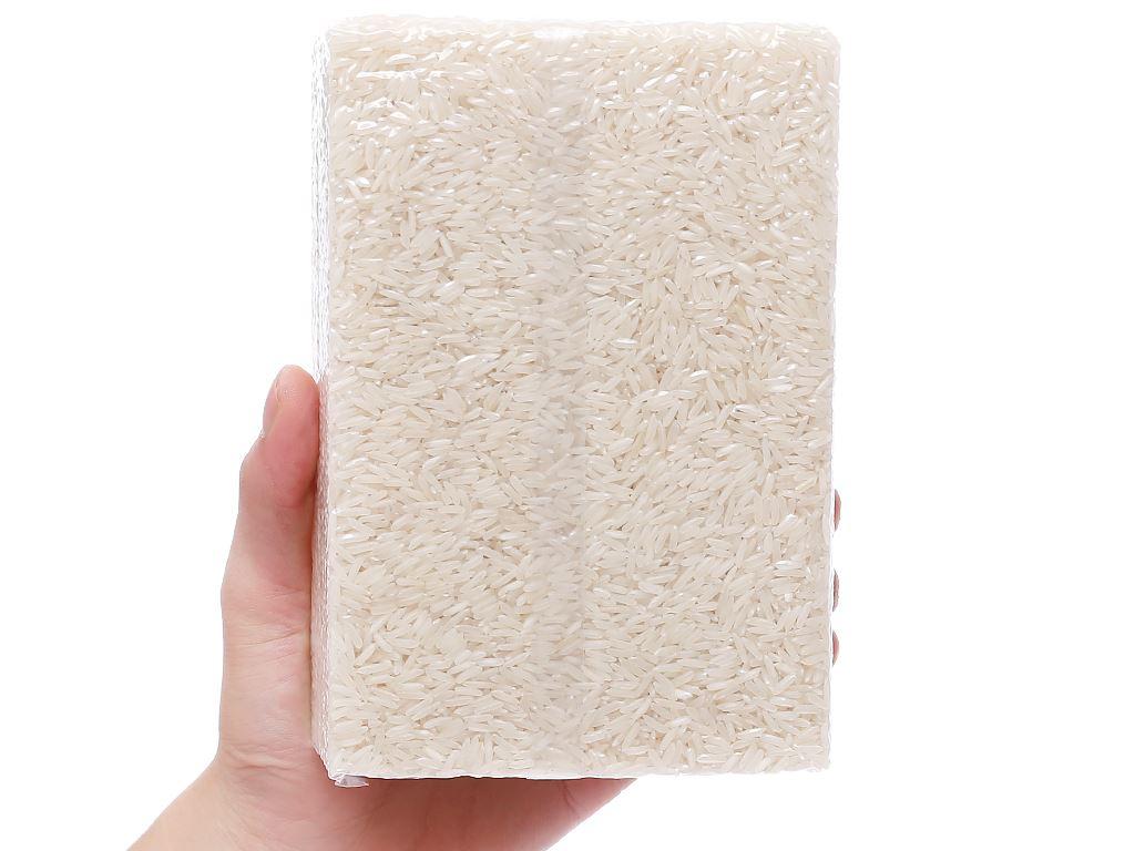 Gạo trắng hương lài hữu cơ Ecoba Ngọc Mễ hộp 1kg 6