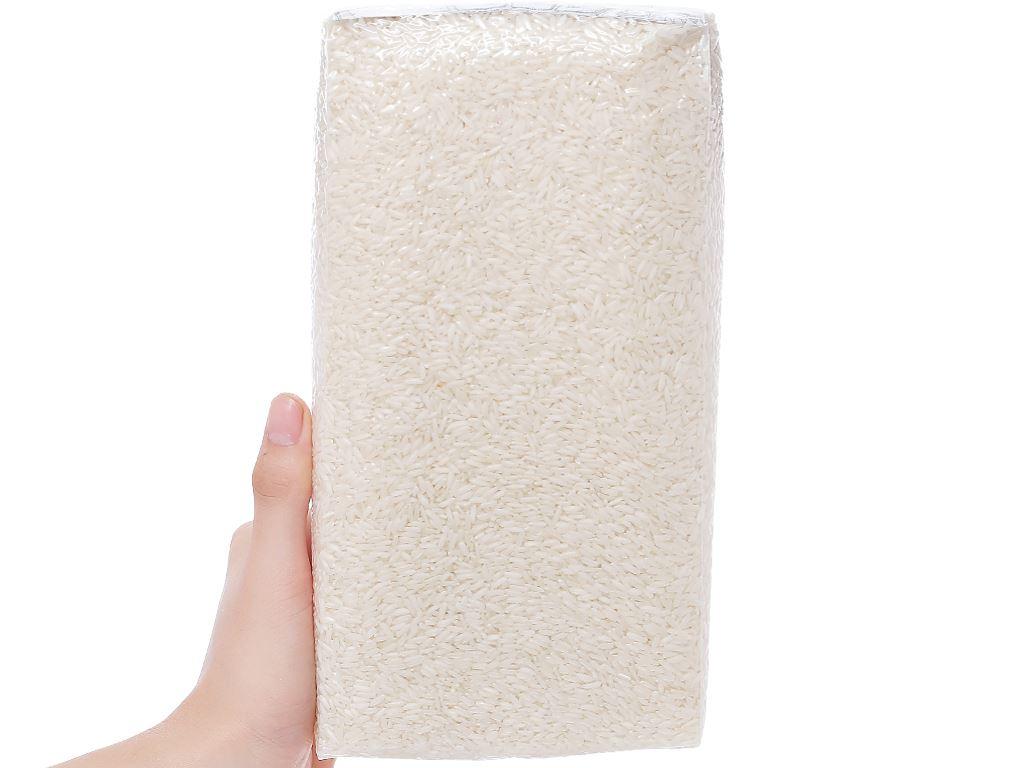 Gạo hữu cơ Hoa Nắng Xanh mạ non hộp 2kg 4