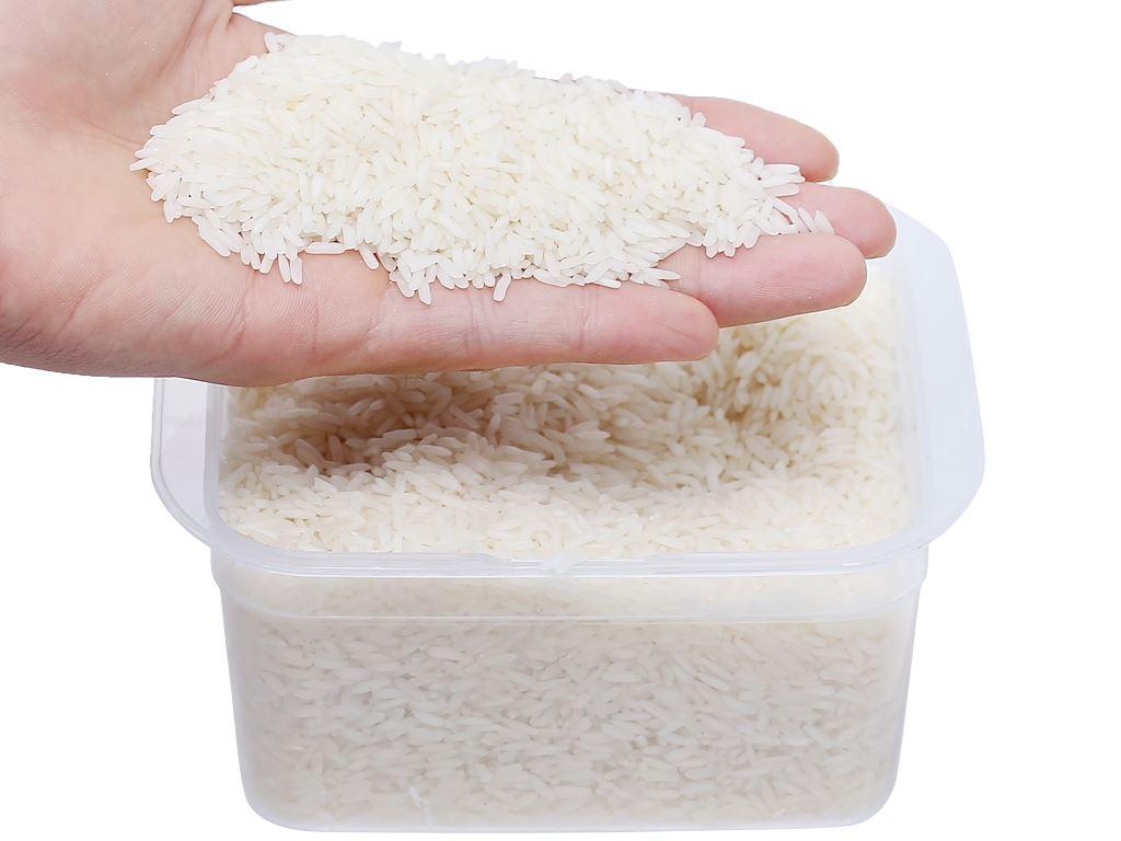 Gạo hữu cơ Hoa Nắng Xanh mạ non hộp 2kg 5