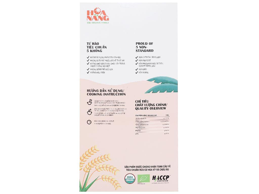 Gạo lứt hữu cơ Hoa Nắng hộp 2kg 2