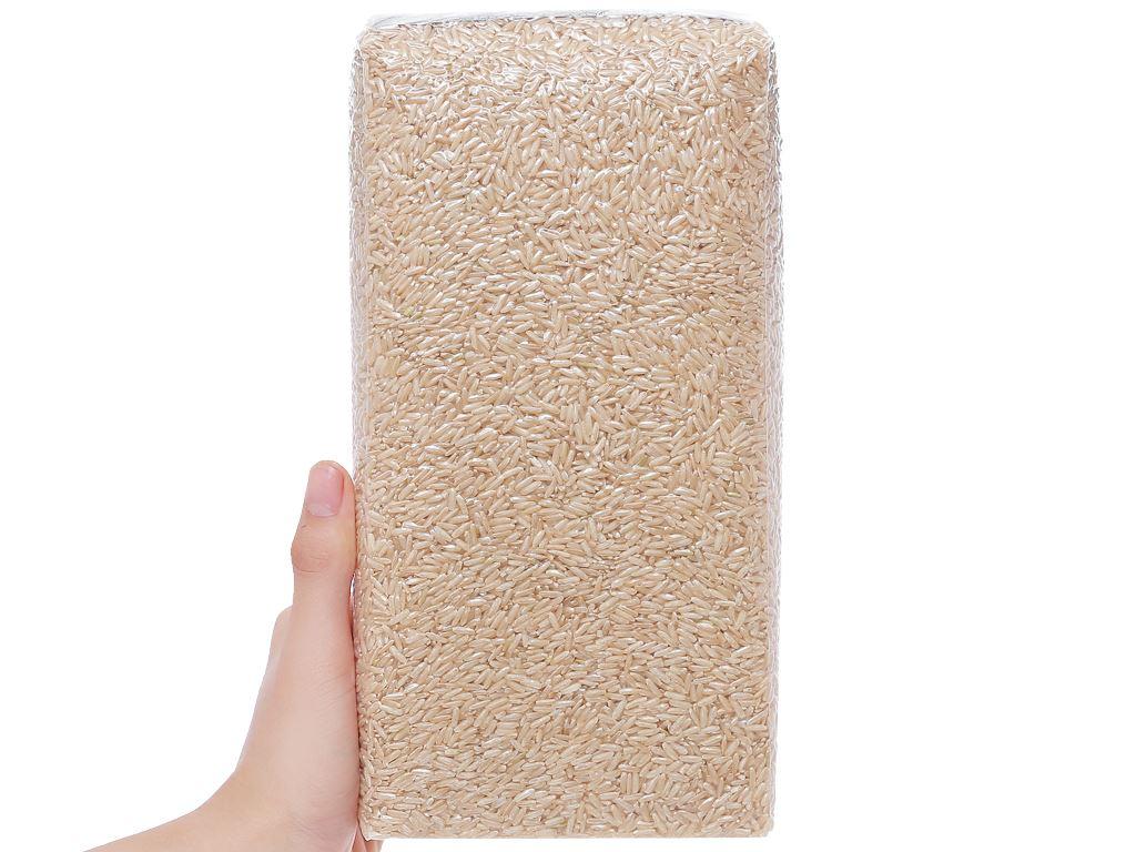 Gạo lứt hữu cơ Hoa Nắng hộp 2kg 7