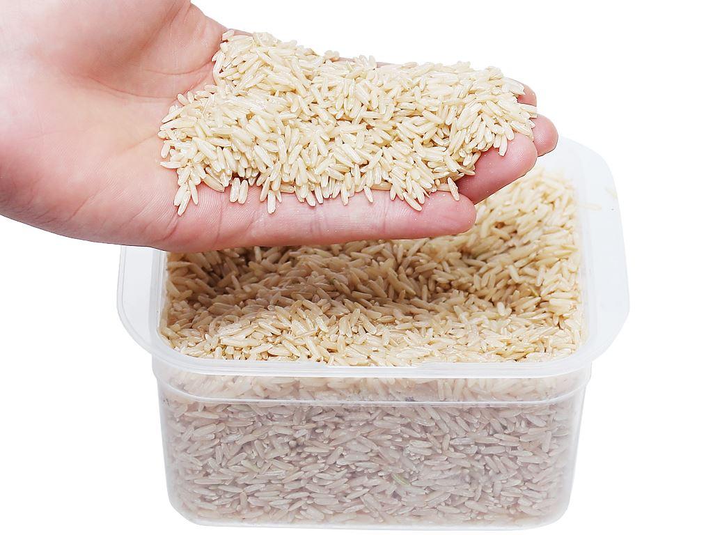 Gạo lứt hữu cơ Hoa Nắng hộp 2kg 5