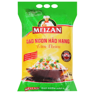 Gạo Tám thơm Meizan túi 5kg