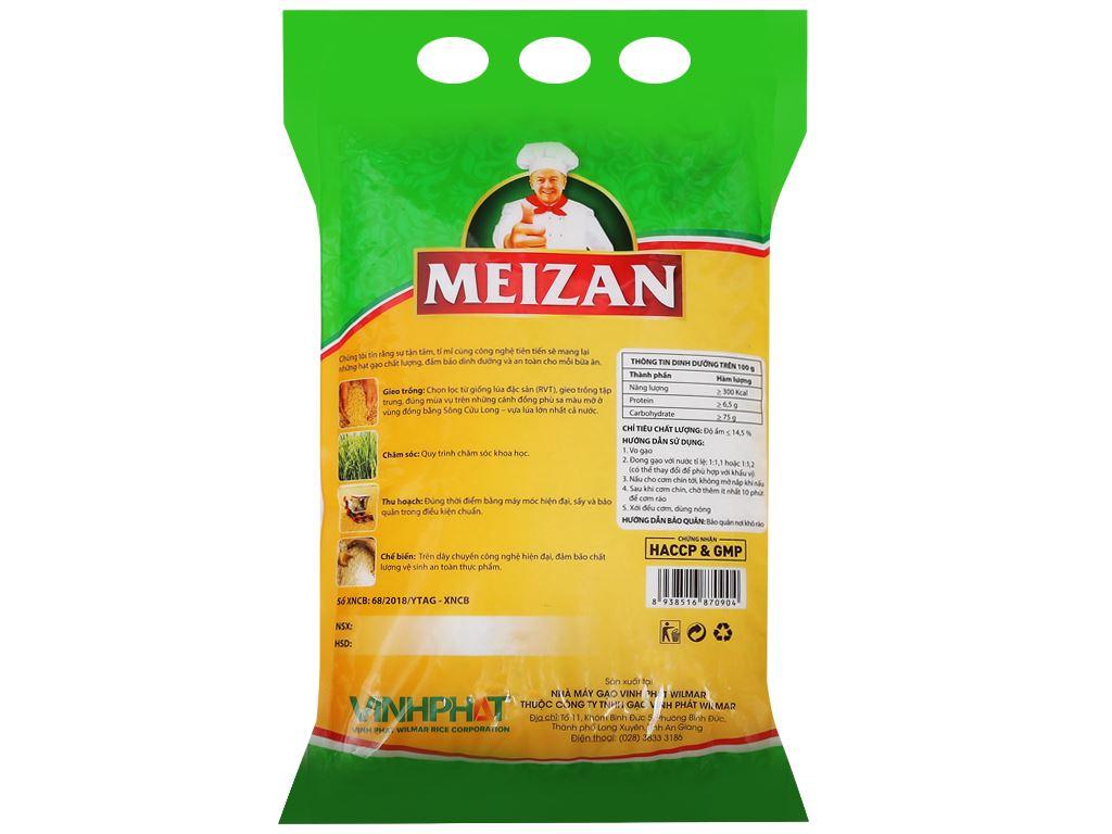 Gạo Tám thơm Meizan túi 5kg 2