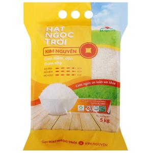 Gạo Hạt Ngọc Trời Kim Nguyên túi 5kg