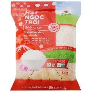 Gạo Hạt Ngọc Trời giống Nhật túi 5kg