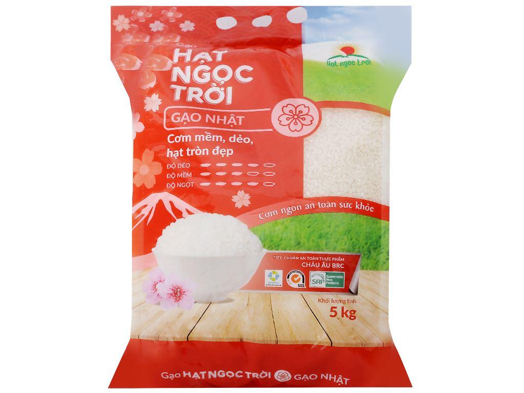 Gạo Hạt Ngọc Trời giống Nhật túi 5kg 1