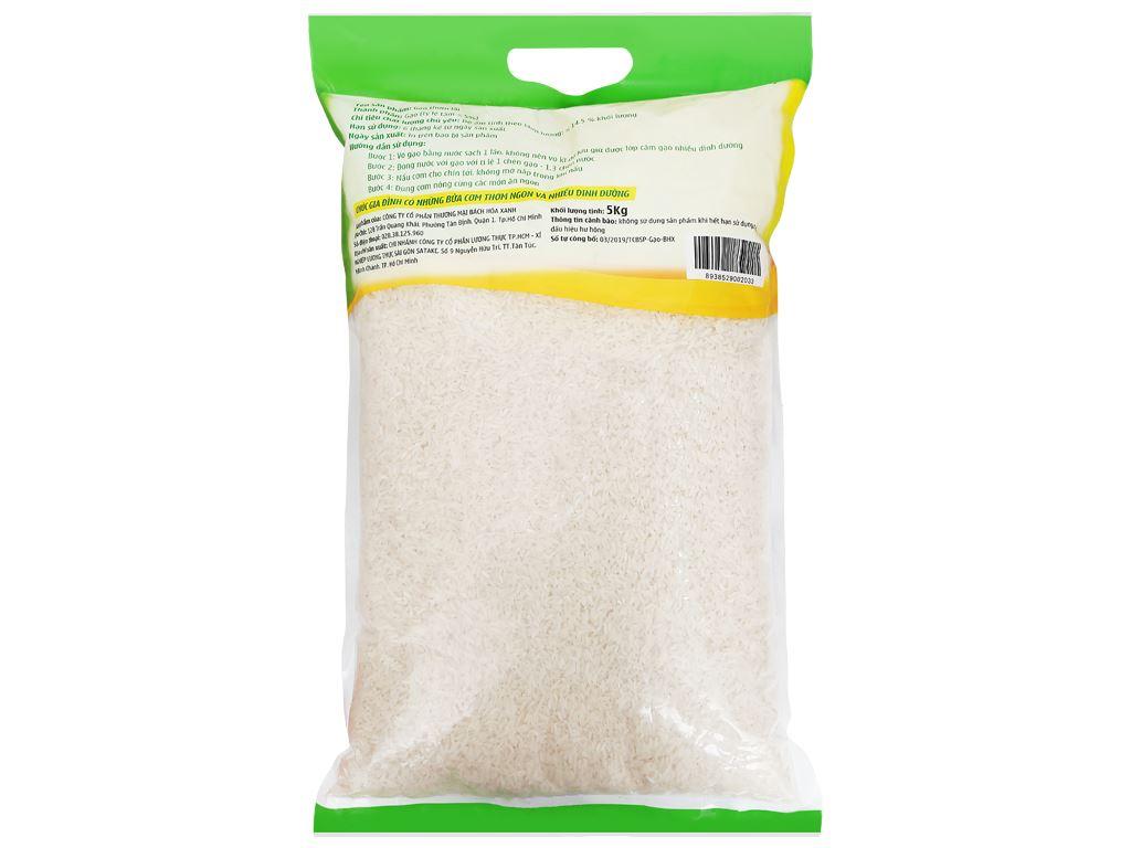Gạo thơm lài Bách hoá XANH túi 5kg 2