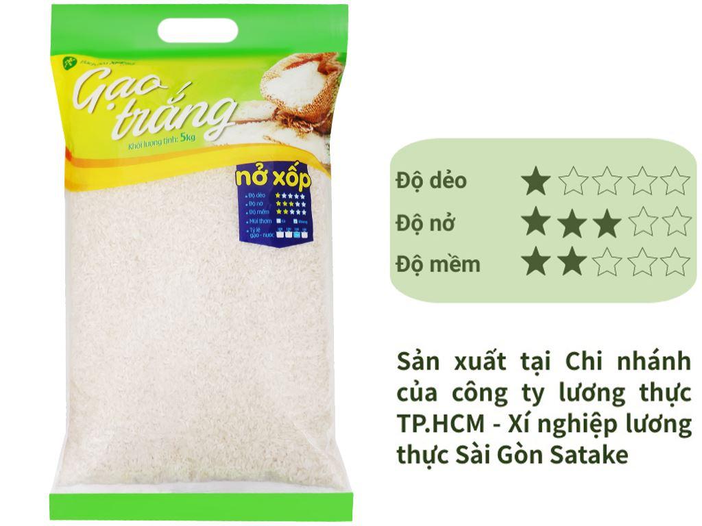 Gạo trắng Bách hoá XANH túi 5kg 1