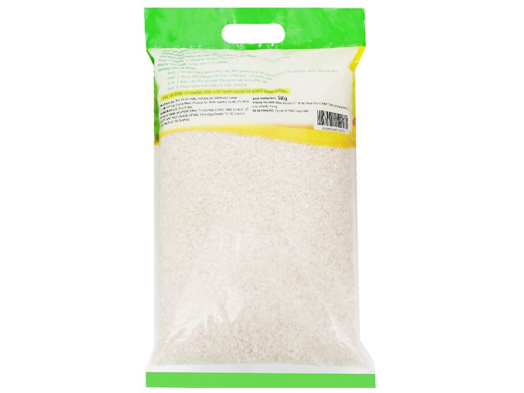 Gạo trắng Bách hoá XANH túi 5kg 2