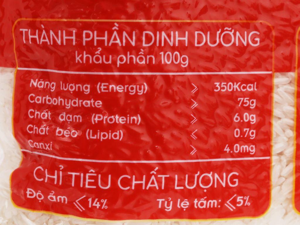 Gạo Vinh Hiển Đặc sản ST24 túi 2kg 4