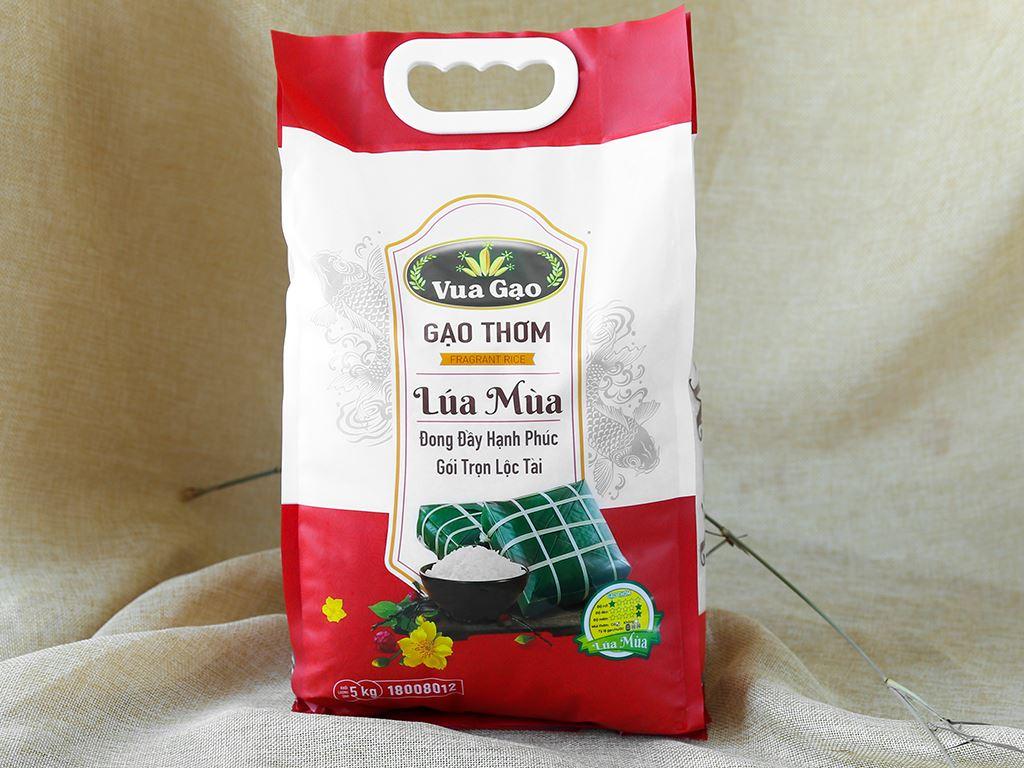 Gạo thơm Vua Gạo Lúa Mùa túi 5kg 1
