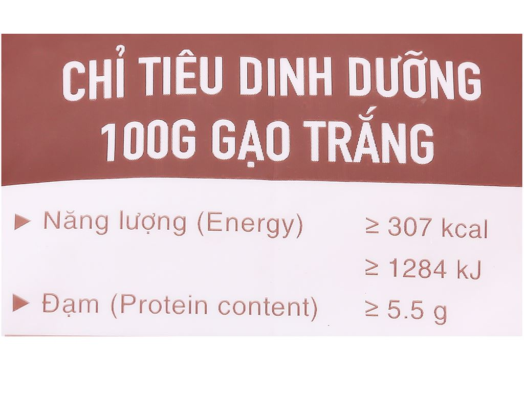 Gạo thơm Vua Gạo Lúa Mùa túi 5kg 2