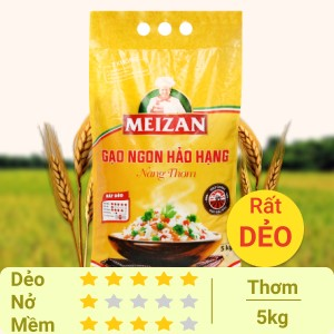 Gạo Meizan Nàng Thơm túi 5kg
