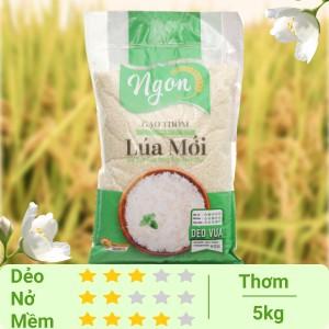 Gạo Ngon Lúa Mới túi 5kg