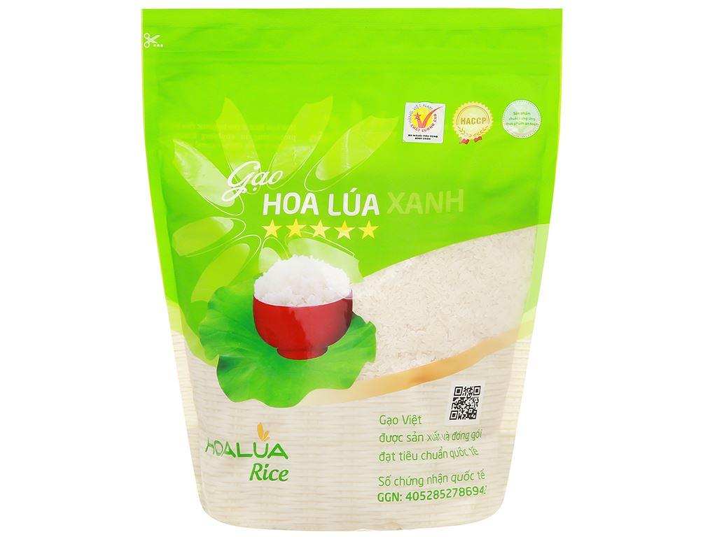 Gạo Hoa Lúa xanh túi 2kg 1