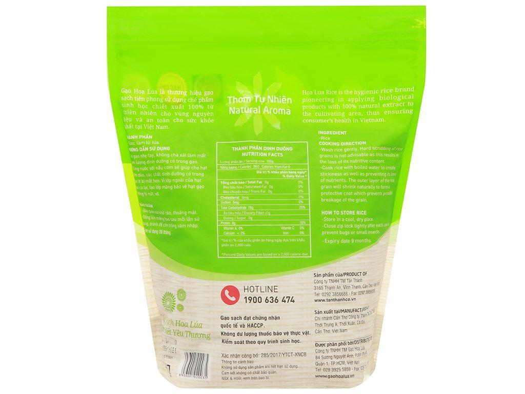 Gạo Hoa Lúa xanh túi 2kg 2