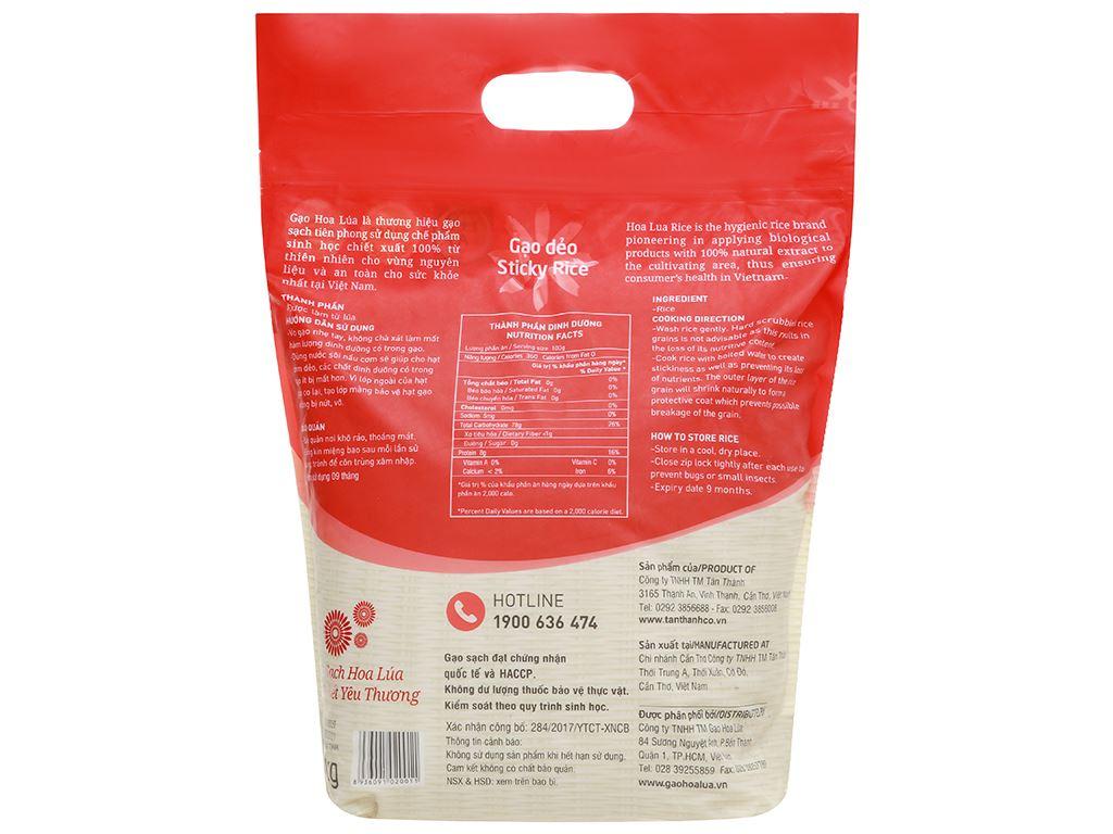Gạo Hoa Lúa đỏ túi 5kg 2