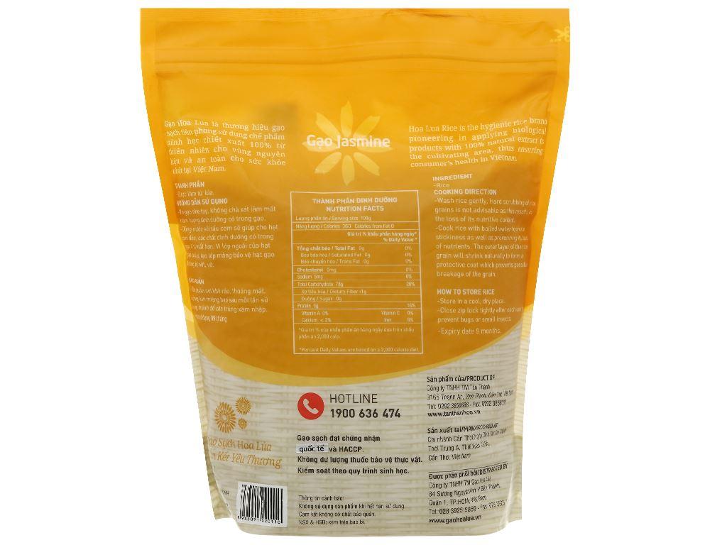 Gạo Hoa Lúa vàng túi 2kg 2