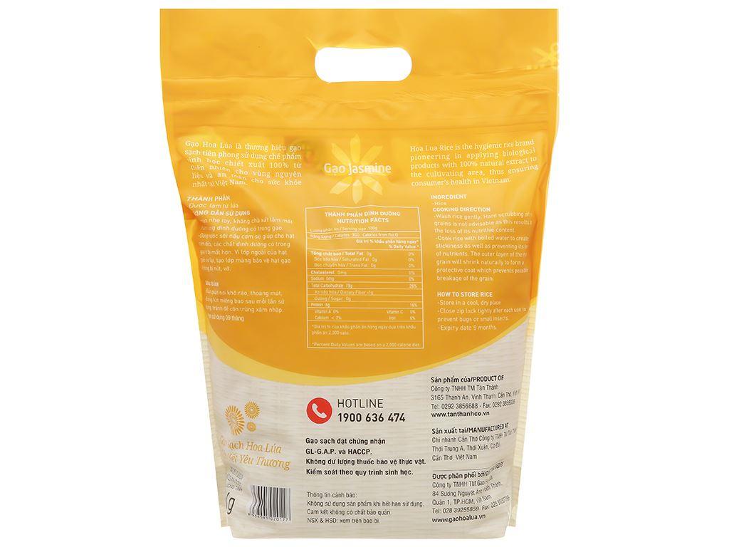 Gạo Hoa Lúa vàng túi 5kg 2