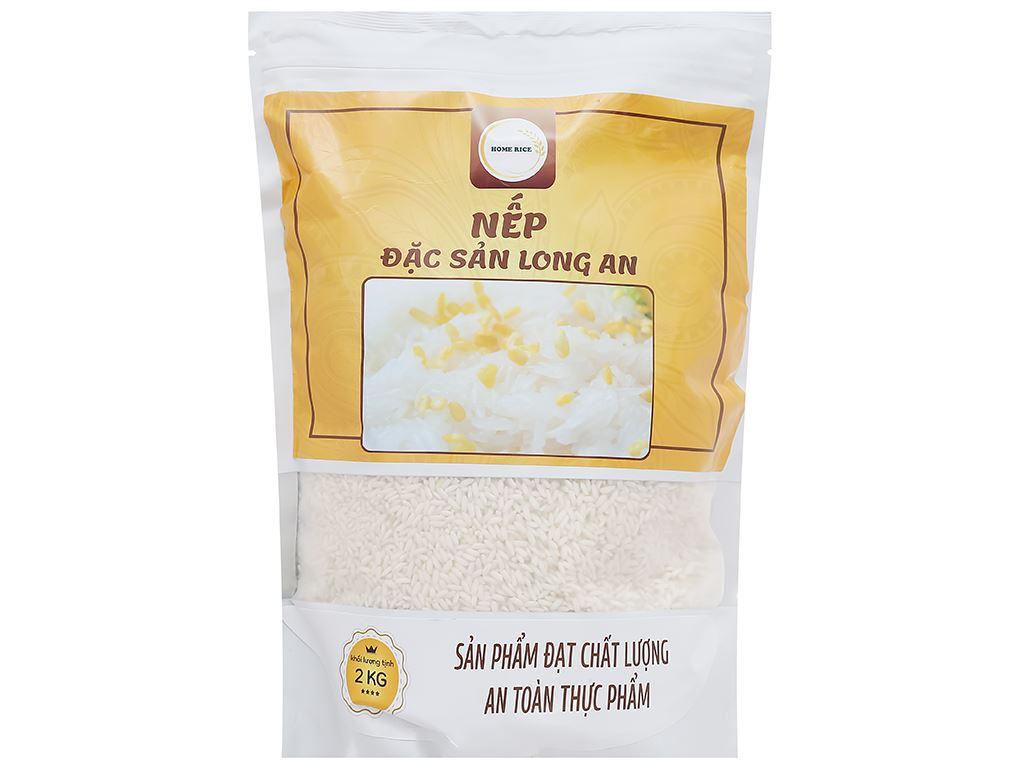 Nếp Home Rice đặc sản Long An túi 2kg 1