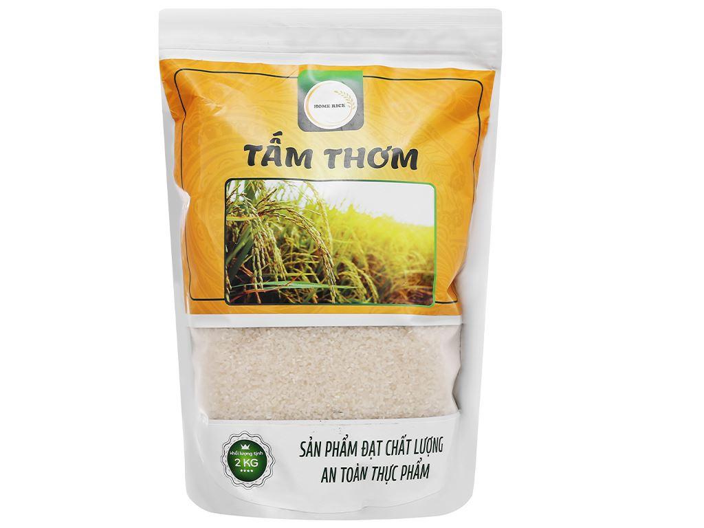 Gạo tấm thơm Home Rice túi 2kg 1