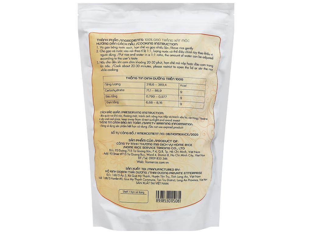 Gạo còn cám Home Rice túi 2kg 2