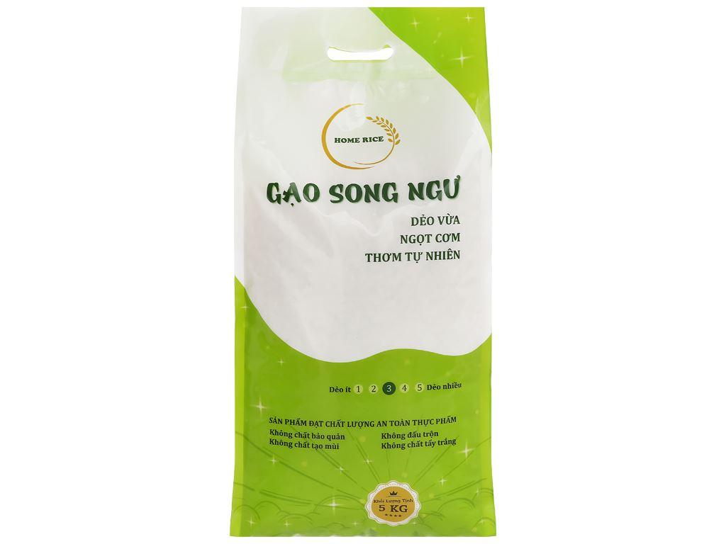 Gạo Home Rice Song Ngư túi 5kg 1