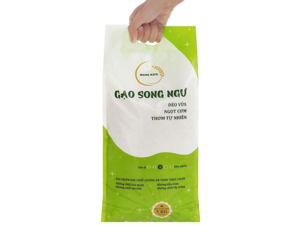 Gạo Home Rice Song Ngư túi 5kg 5