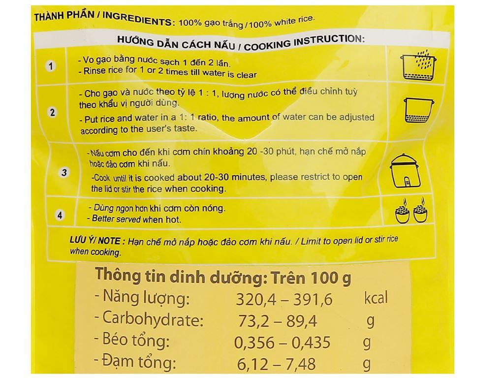 Gạo ST24 Home Rice Bảo Bình túi 5kg 3