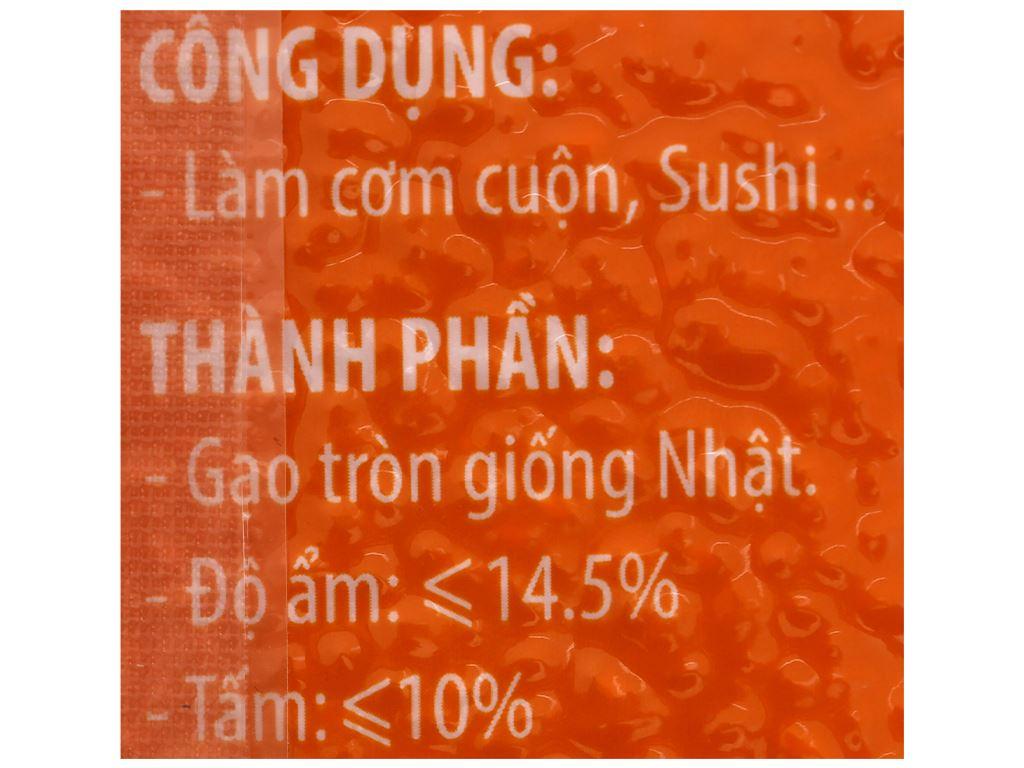 Gạo Japonica Ông Thọ túi 1kg 3
