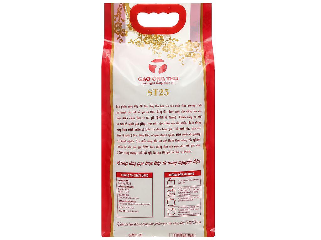 Gạo Ông Thọ ST25 túi 5kg 2