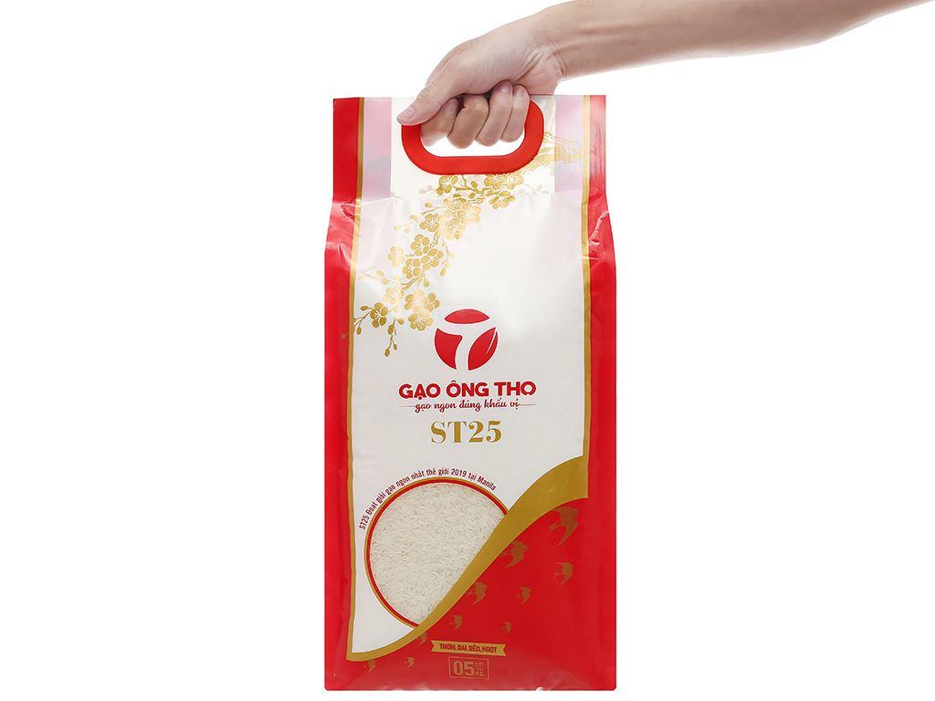 Gạo Ông Thọ ST25 túi 5kg 4