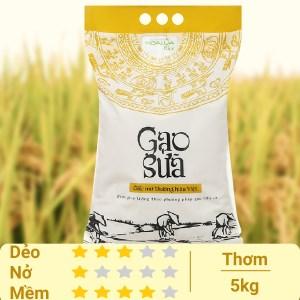 Gạo sữa Hoa Lúa túi 5kg