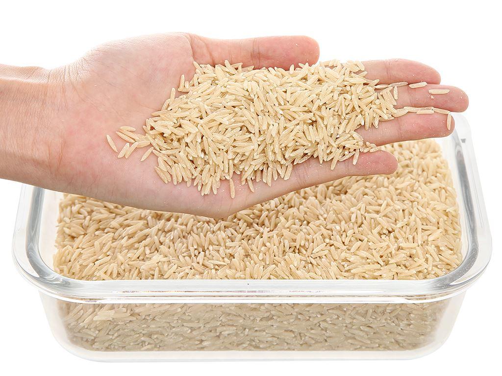 Gạo Cỏ May lứt nâu organic hộp 1kg 5