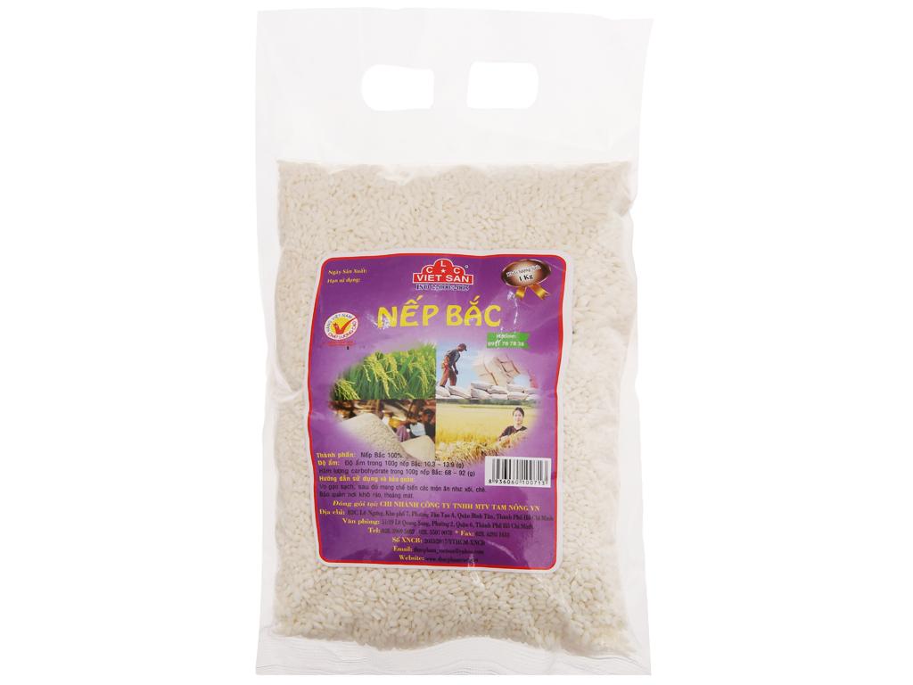 Nếp Bắc Việt San túi 1kg 1